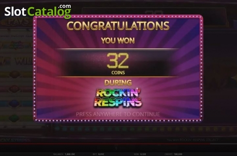 Feature Win. Lucky Stripes (Video Slot from iSoftBet)