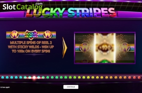 Intro. Lucky Stripes (Video Slot from iSoftBet)