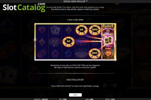 Features 2. Vegas High Roller (Video Slot from iSoftBet)