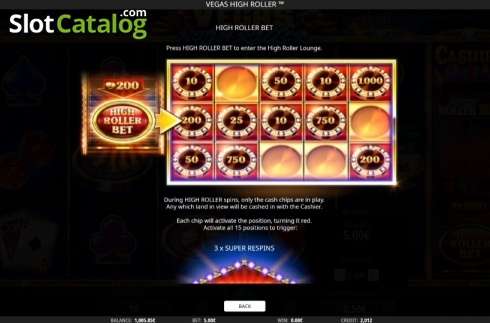 Features 3. Vegas High Roller (Video Slot from iSoftBet)