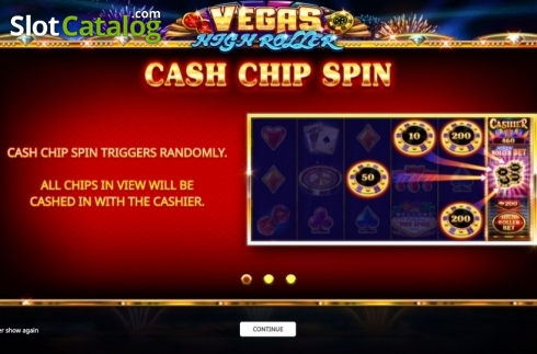 Start Screen. Vegas High Roller (Video Slot from iSoftBet)