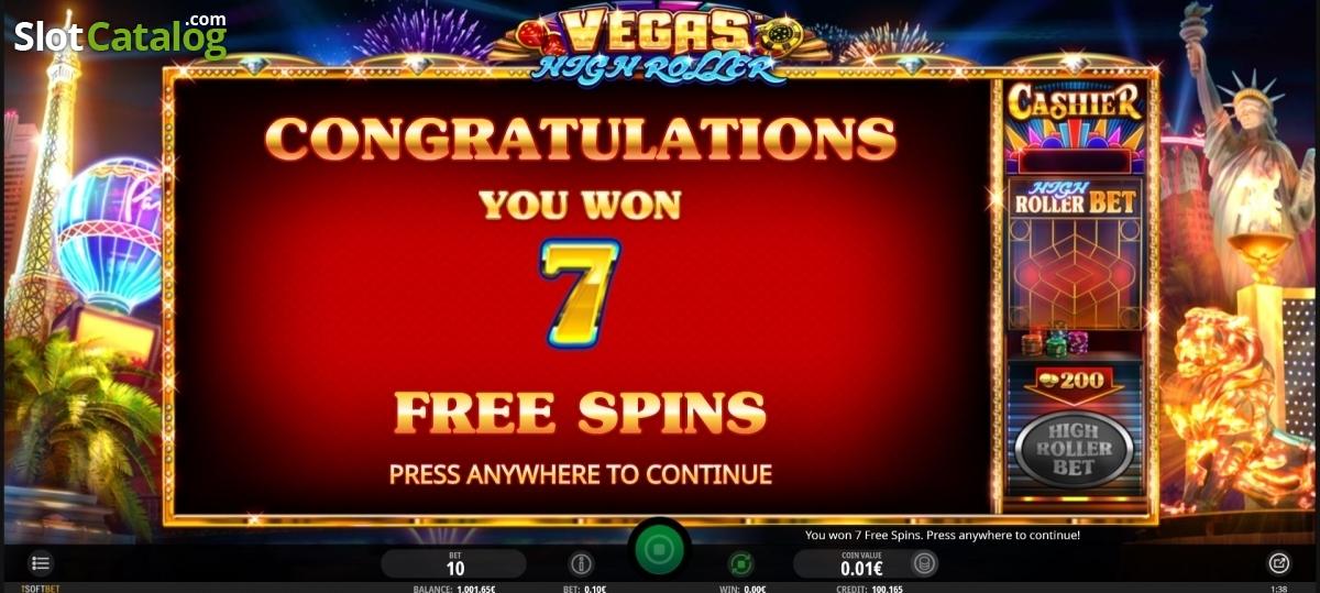 Vegas High Roller Slots