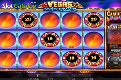 Free Spins 2. Vegas High Roller (Video Slot from iSoftBet)