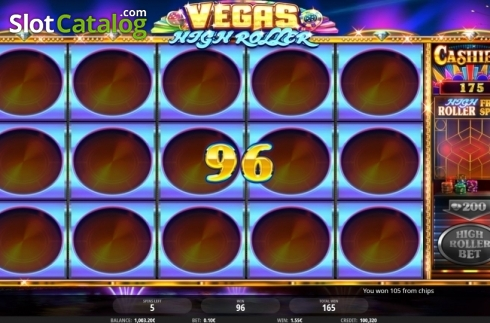 Free Spins 3. Vegas High Roller (Video Slot from iSoftBet)