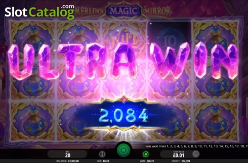 Ultra Win. Merlin's Magic Mirror (Video Slot from iSoftBet)