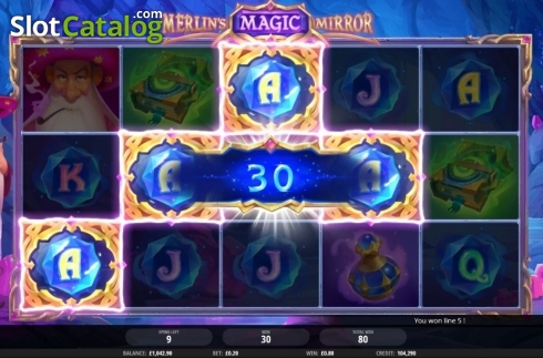 Free Spins 2. Merlin's Magic Mirror (Video Slot from iSoftBet)
