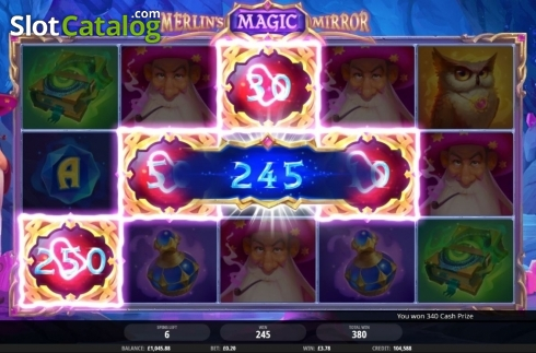 Free Spins 3. Merlin's Magic Mirror (Video Slot from iSoftBet)
