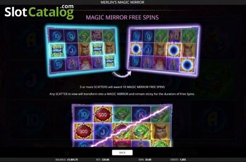 Features 1. Merlin's Magic Mirror (Video Slot from iSoftBet)