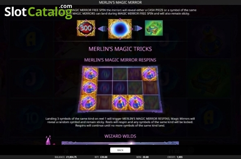 Features 2. Merlin's Magic Mirror (Video Slot from iSoftBet)