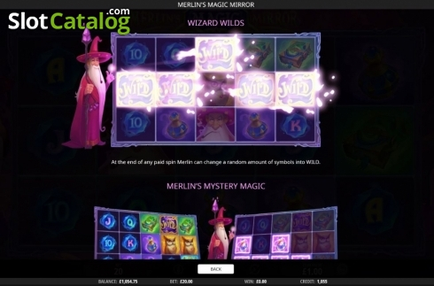 Features 3. Merlin's Magic Mirror (Video Slot from iSoftBet)