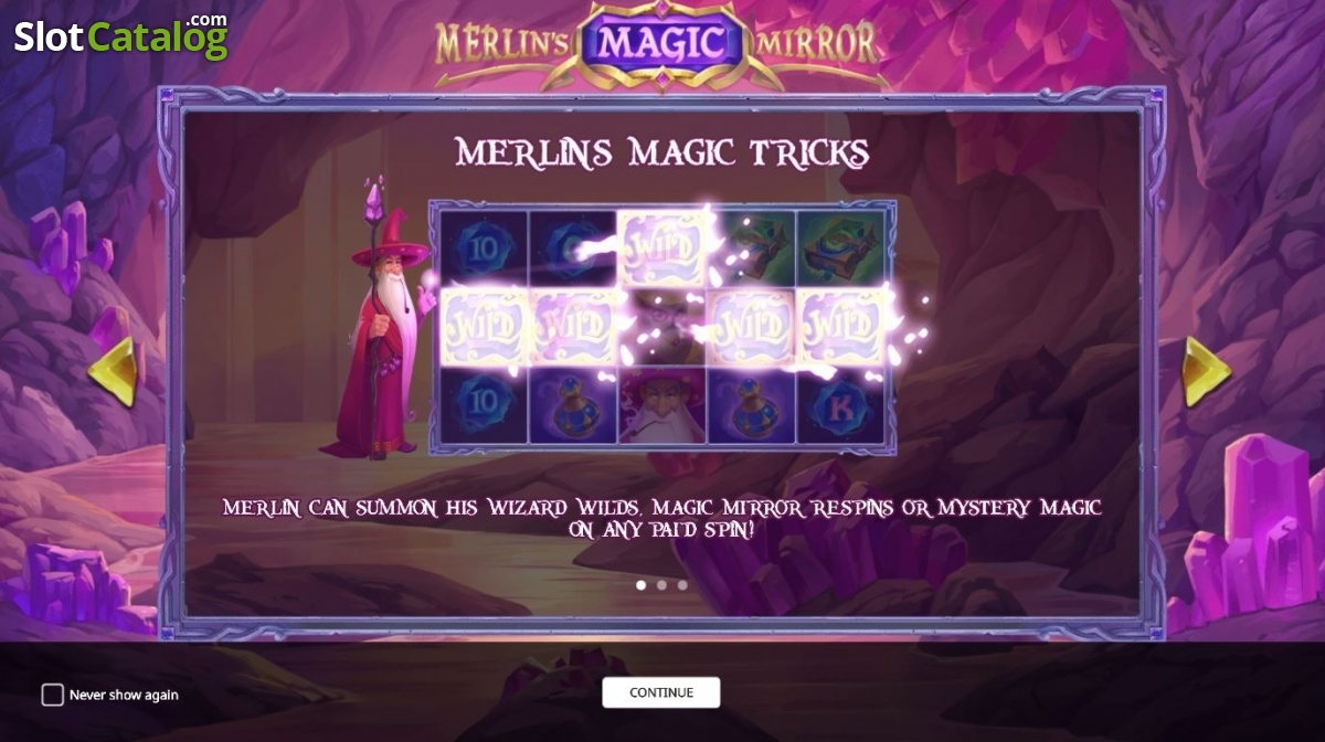 Merlin's Magic Mirror Slot Review, Bonus Codes & where to play from United  Kingdom
