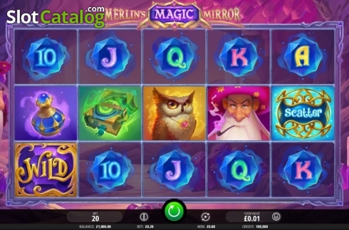 Reel Screen. Merlin's Magic Mirror (Video Slot from iSoftBet)