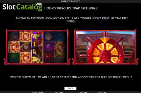 Features 4. Lost Boys Loot (Video Slots from iSoftBet)