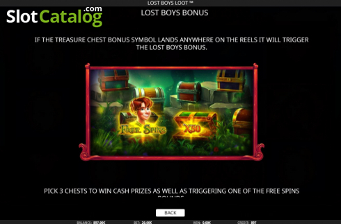 Features 6. Lost Boys Loot (Video Slots from iSoftBet)