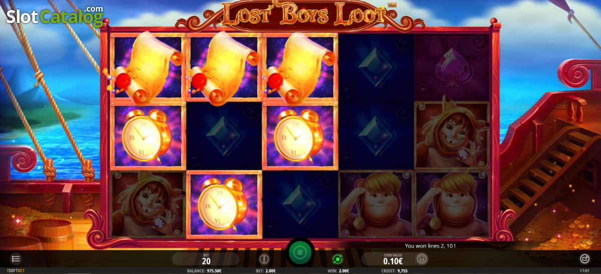 Spiele Lost Boys Loot - Video Slots Online