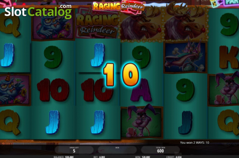 Free Spins 3. Raging Reindeer (Video Slot from iSoftBet)