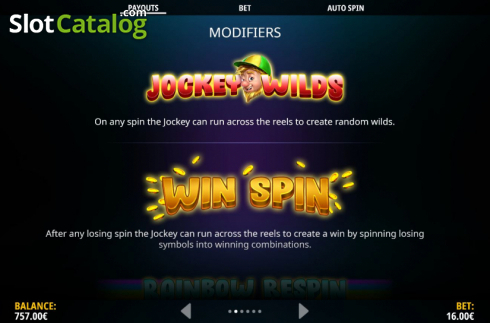Spiele Racetrack Riches Megaboard - Video Slots Online