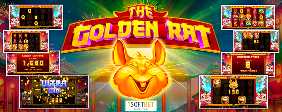 The Golden Rat (iSoftBet)