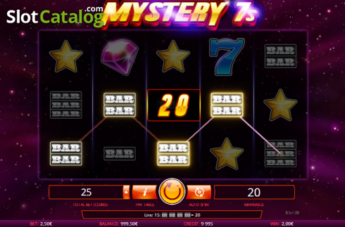 Screen 3. Mystery 7s (Video Slot from iSoftBet)
