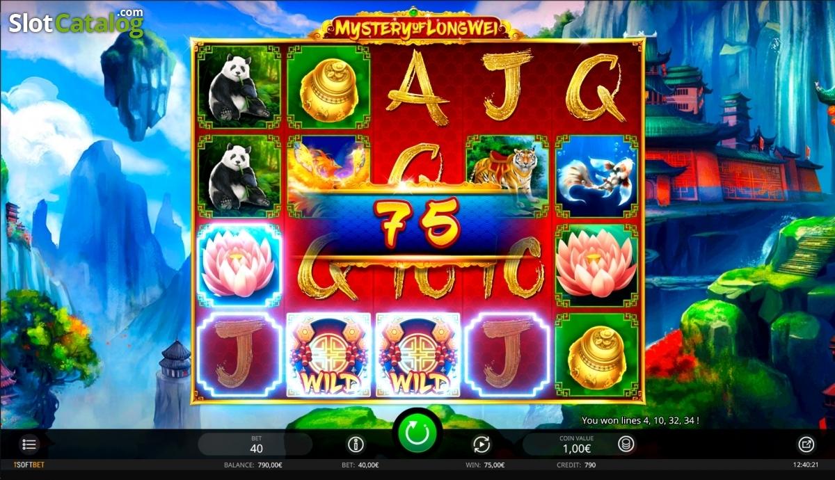 Spiele Mystery Of LongWei - Video Slots Online