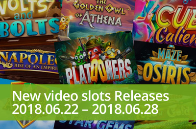 Become a part of movie cast with Platooners in slots released during 22 — 28 June 2018