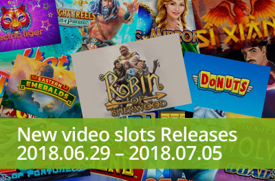 Enjoy the beloved English folklore with slots released during 29 June — 05 July 2018