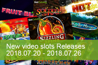 Make a red hot BBQ with slots that were launched during 20 — 26 July 2018