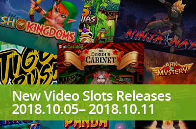 Start feeling Halloween vibes with slots that were released during 05 — 11 October 2018