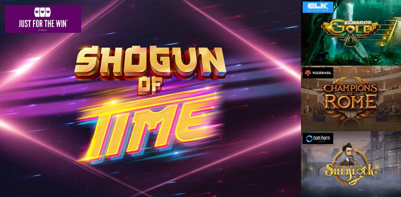 Become a cyberpunk shogun with slots that were released during 15 — 21 February 2019