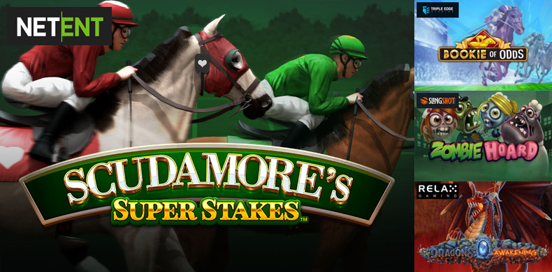 Place a bet at hippodrome with slots that were released during 01 — 07 March 2019