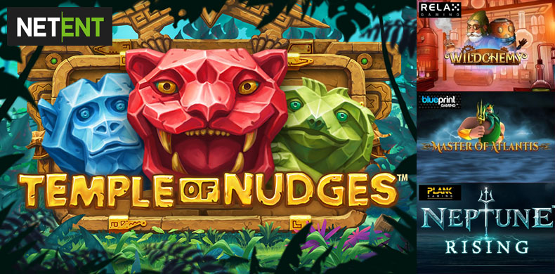 Nudge your win with slots that were released during 15 — 21 March 2019