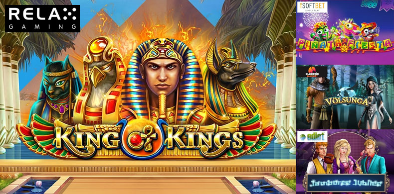 Unleash the mysteries of pharaoh with slots that were released during 29 March — 04 April 2019
