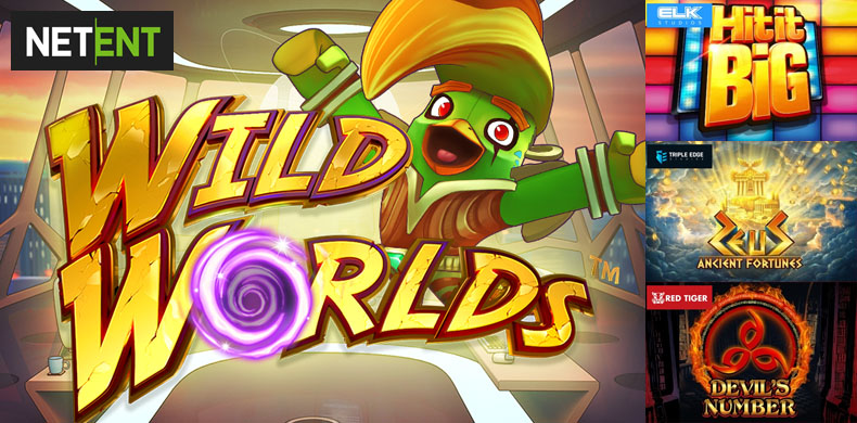 Travel to wild worlds to find a true luck with slots that were released during 05 — 11 April 2019