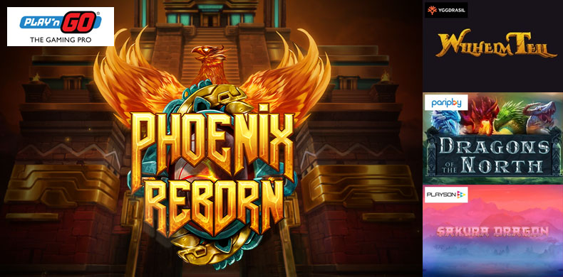 Phoenixes, legendary archers and tons of dragons are searching for adventures in slots that were released during 12 — 18 April 2019