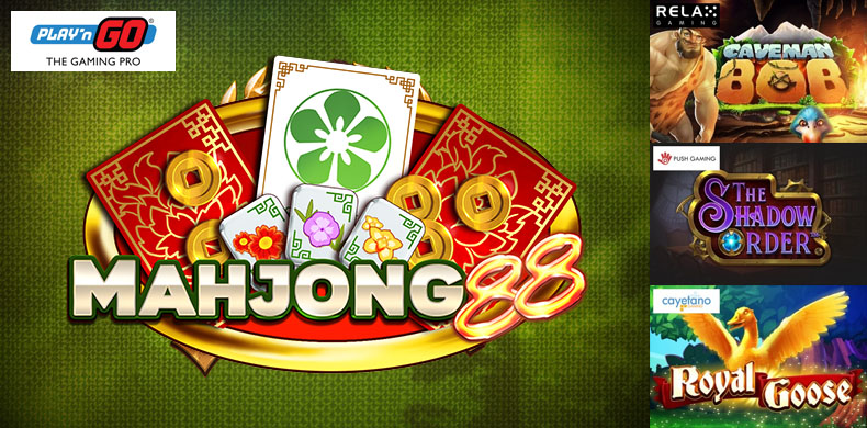 Play a Chinese tile-based board game and other featureful slots that were released during 26 April — 02 May 2019