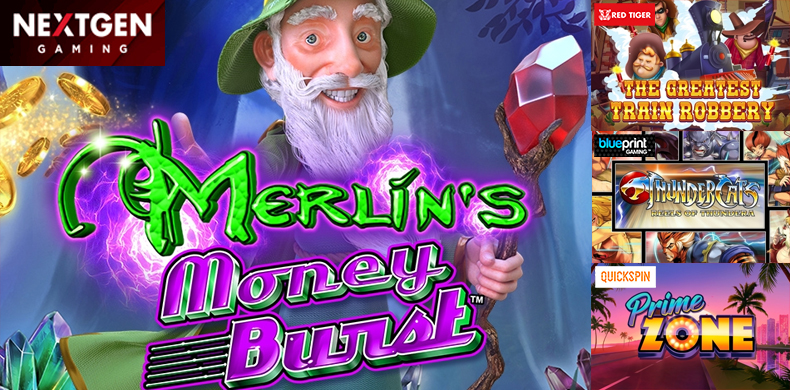 Merlin's adventures continued in slots that were released during 14 — 20 June 2019