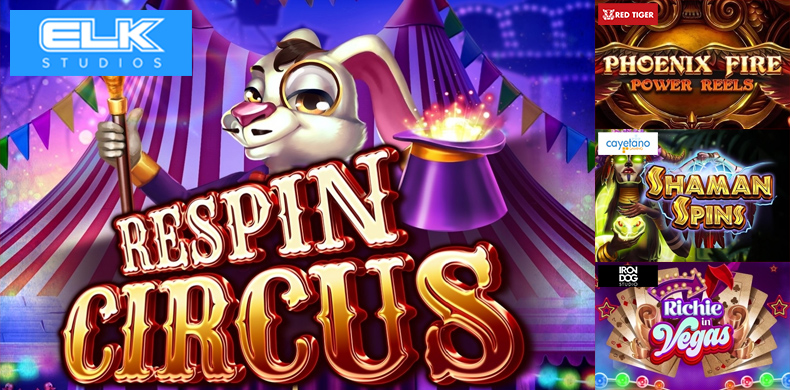 Visit grand circus show with the slots that were released during 28 June — 04 July 2019
