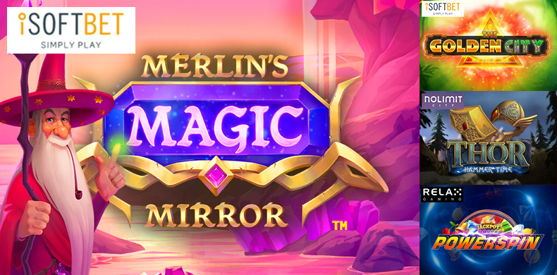 Explore Merlin's magic tricks in slots that were released during 12 — 18 July 2019
