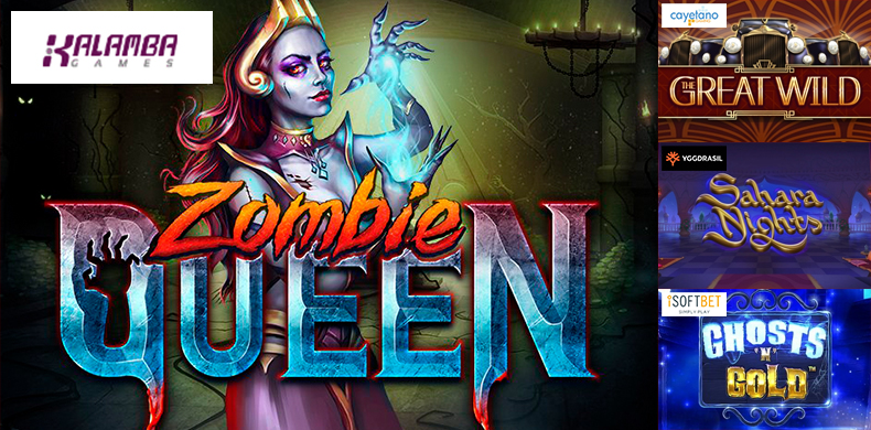 Start the zombie apocalypse with slots that were released during 06 — 12 September 2019