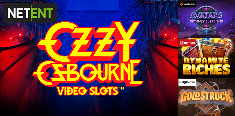 Shocking Ozzy at the head of slots that were released during 15 — 21 November 2019