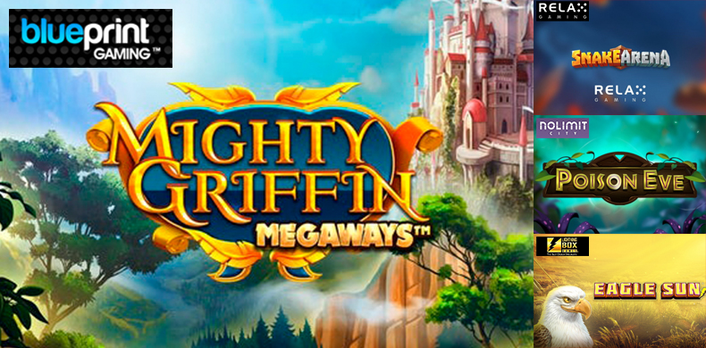 Conquer the sky riding a griffin in slots that were released during 20 — 26 December 2019