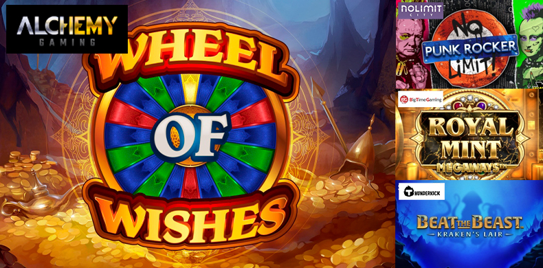 Spin a fortune wheel in slots that were released during 07 — 13 February 2020