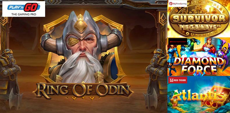 Discover the power of Odin's ring in slots that were released during 10 — 16 April 2020