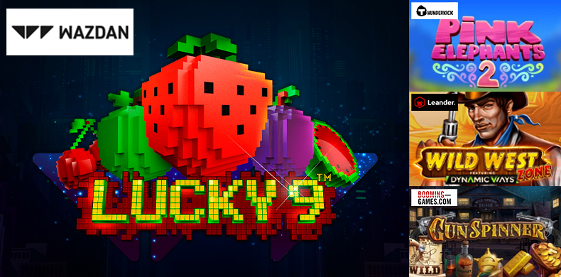 Visit a pixel-style retro fruit town with slots that were released during 24 — 30 April 2020
