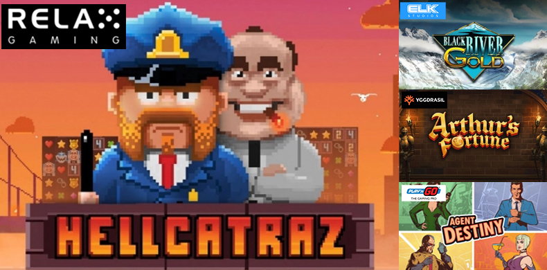 Try to escape an 8-bit Alcatraz prison in slots that were released during 01 — 07 May 2020