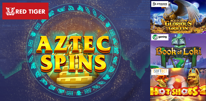 Spin an Aztec bonus wheel in slots that were released during 22 — 28 May 2020